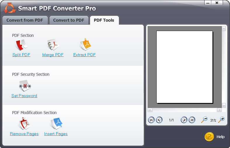 Smart PDF Tools Screenshots - Combibne PDF files into one